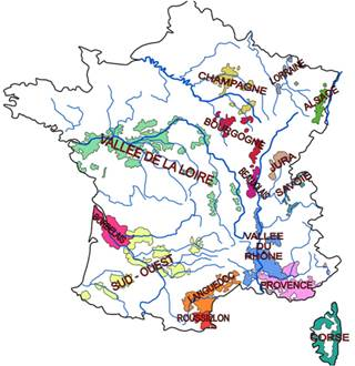 Crémant d'Alsace, Bordeaux, Bourgogne, Loire, Die, Jura, Limoux, Savoie  of Luxembourg?