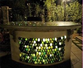 Recyclen die flessen!