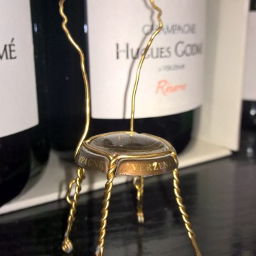 Gevonden,……. een mooie biologische Champagne