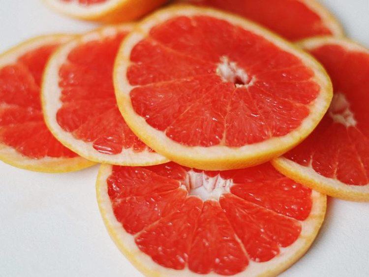 schijfjes grapefruit