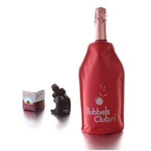 wijnkoeler en bubbelsstop