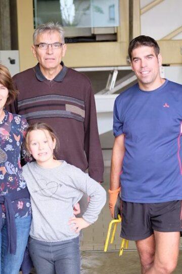 champagne maker sebastien daviaux en familie