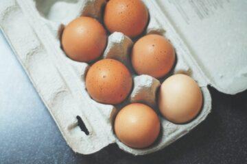 Eieren voor de ei mimosa